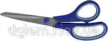 Ножницы с резиновыми вставками 215мм BUROMAX