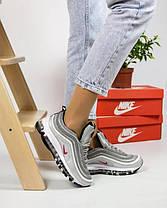 Женские кроссовки в стиле Nike Air Max 97 Silver, фото 3