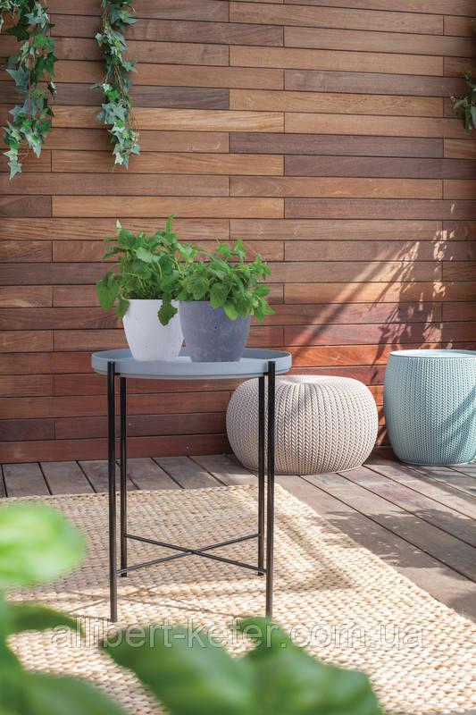 Цветочный горшок Keter Beton Round Planter Indoor