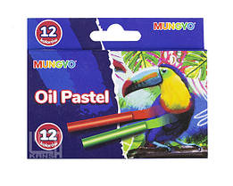 Пастель масляная Mini 12 цветов детская,MOPS-12 Mungyo