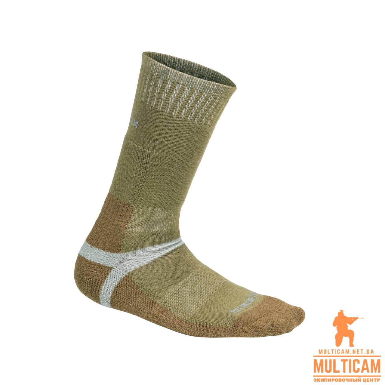 Термоноски Helikon-Tex® Merino Socks - Olive Green/Coyote
