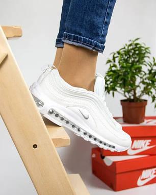 Женские кроссовки в стиле Nike Air Max 97 White, фото 2