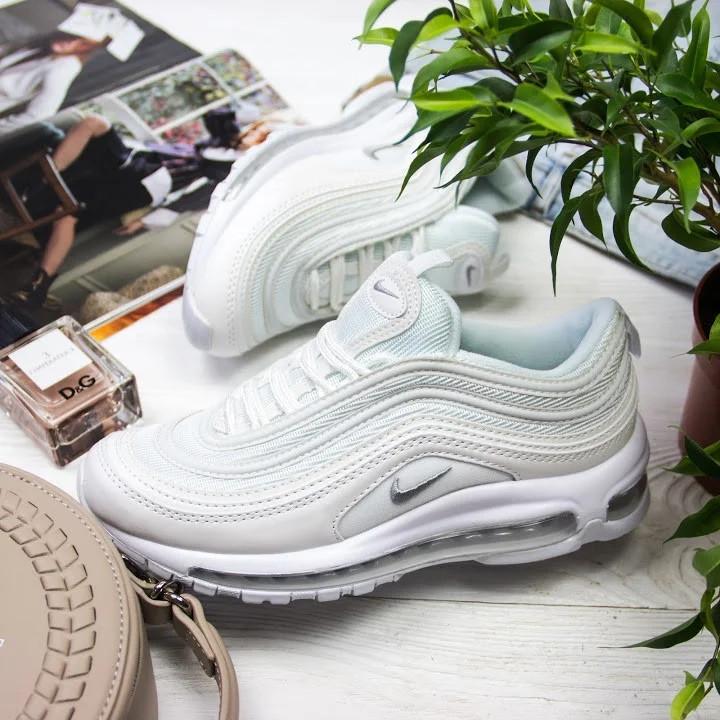 Женские кроссовки в стиле Nike Air Max 97 White