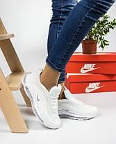 Женские кроссовки в стиле Nike Air Max 97 White, фото 3