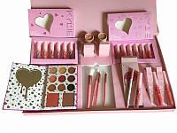 Подарочный набор декоративной косметики Kylie розовый!Топ Продаж