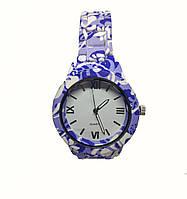 Женские часы  Geneva Flower BL308 на браслете под керамику.