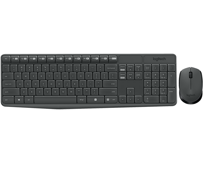 Клавіатура + миша Logitech MK235 (920-007948)
