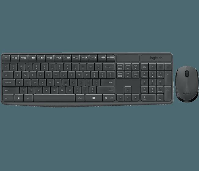 Клавиатура + мышь Logitech MK235 (920-007948)