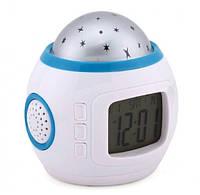 Часы с будильником и проектором звездного неба Ukc 1038 152885