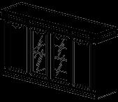 Шкаф низкий Классик 22/602 (1720х440х935)