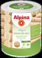 Грунтовка для дерева на водной основе Alpina Aqua Grund für Holz (бесцветная) 0,75 л