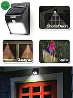 """Уличный LED Светильник на солнечных батареях с датчиком движения """"EverBrite"""". Эвэр брайт. Ever Brite!Топ Продаж"""