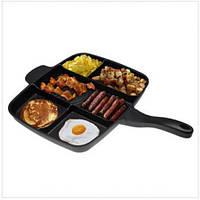 Универсальная антипригарная сковорода-гриль Magic Pan 246-10!Топ Продаж
