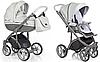 Детская коляска 2 в 1 Roan Bass Soft Ecco Dove Grey