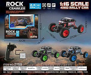 Радиоуправляемая игрушка ROCK CRAWLER машинка на радио управлении внедорожник вездеход, фото 2