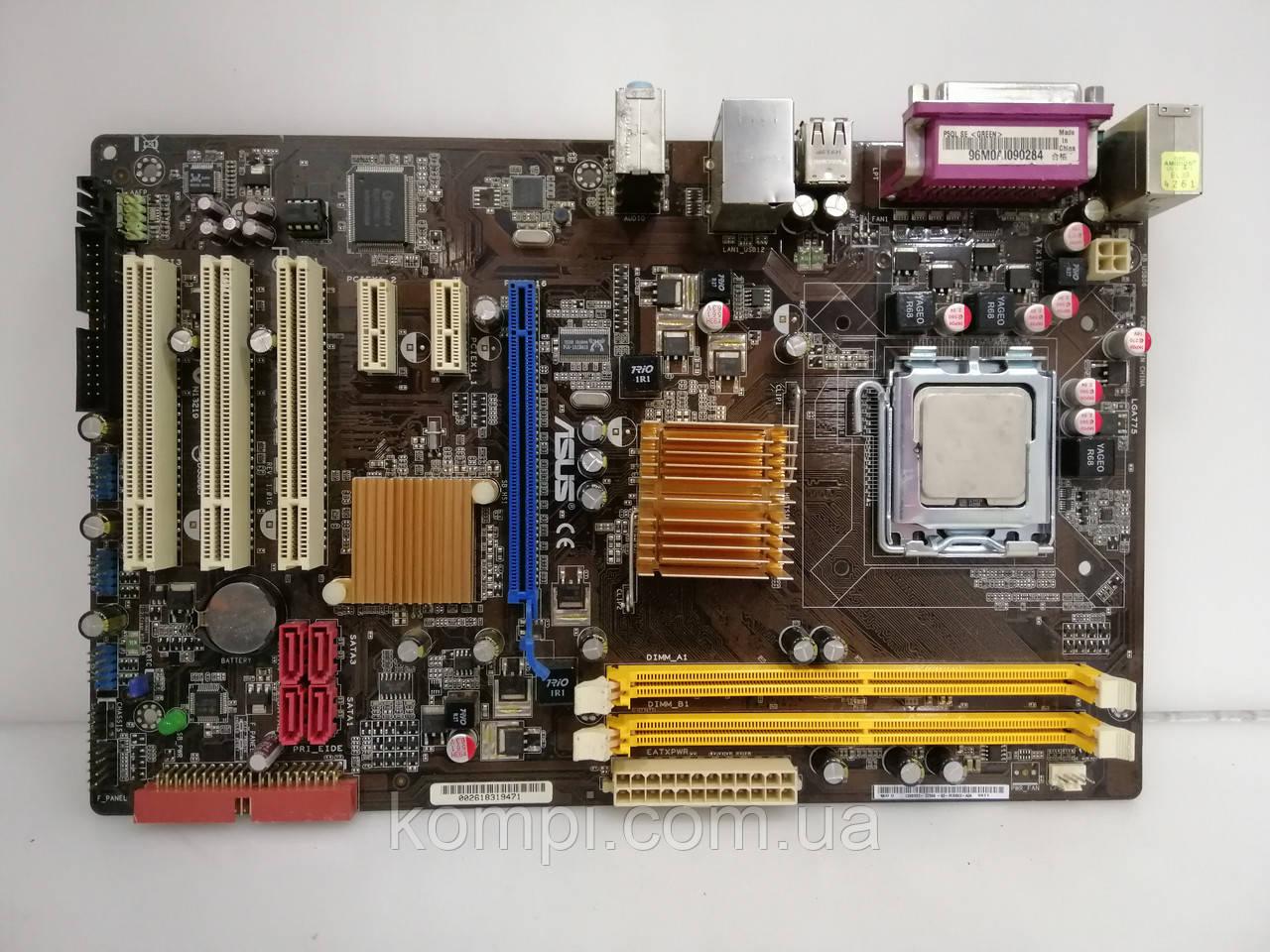 Материнская плата Asus P5QL-SE +e7300 s775 DDR2