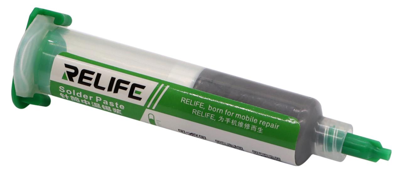 Паяльная паста RELIFE RL-403 Sn63/Pb67 10г безотмывочная