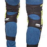 Мотонаколенники Leatt Knee Guard 3DF подовжені, Білі, фото 2