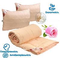 Набор Одеяло + 2 Подушки Евро 200x220 Троянда 200г/м2
