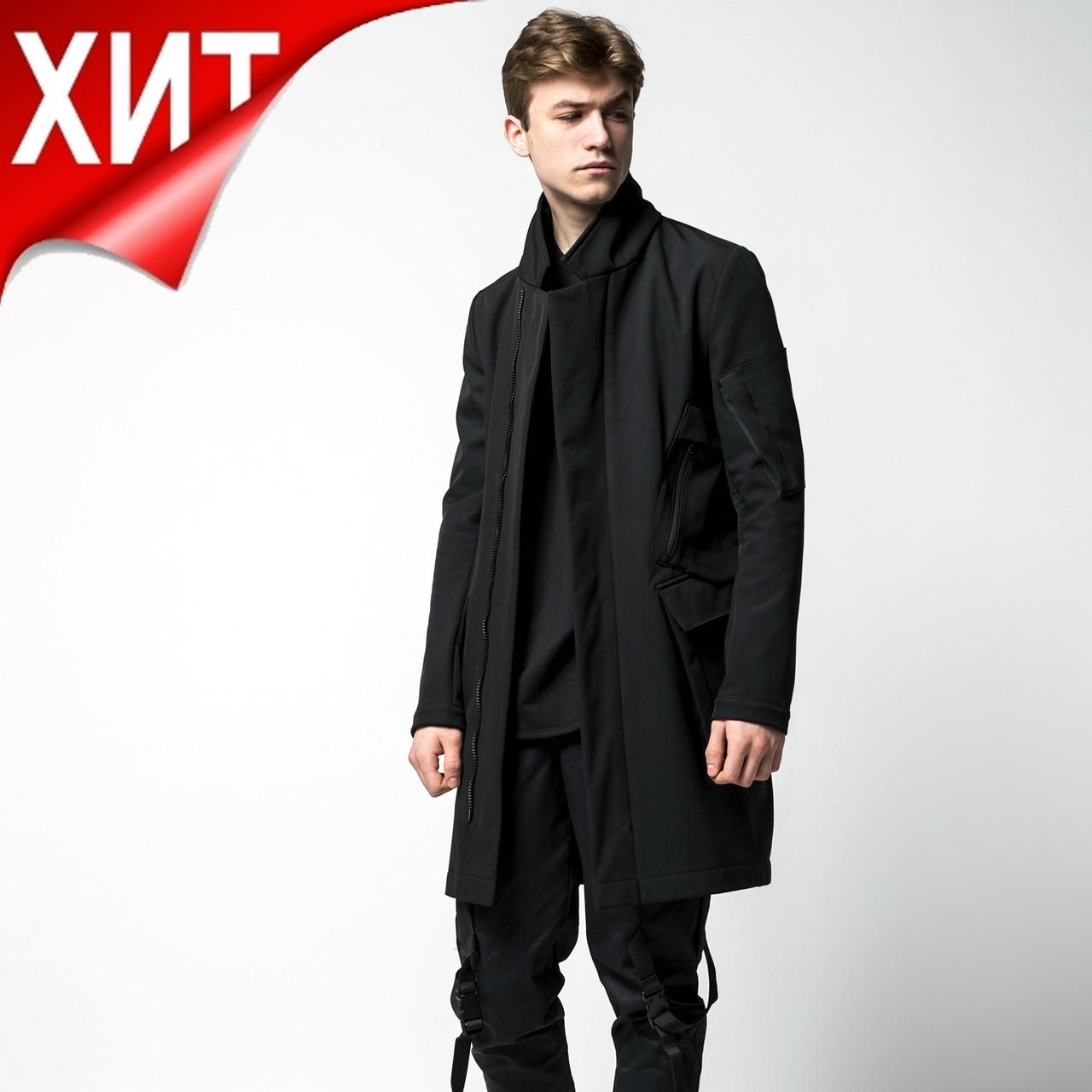 Плащ пальто из Softshell бренд ТУР модель Yakuza (Якудза)