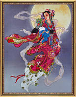 Набор для вышивания бисером на авторской канве Восточная красавица - 1 Р-219