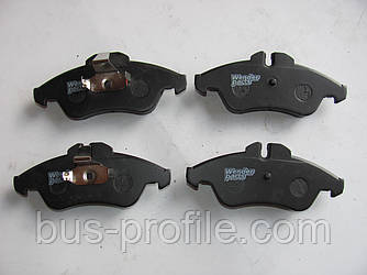 Передние колодки на MB Sprinter, VW LT 1996-2006 — Wender Parts (Турция) — 21576