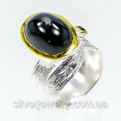 Серебряное кольцо с ШПИНЕЛЬЮ (натуральная) , серебро 925 пр. Размер 17