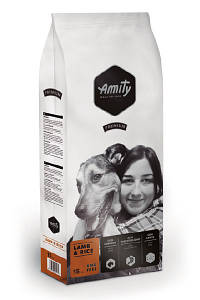 AMITY Lamb&Rice 15KG. Корм для собак с ягненком и рисом
