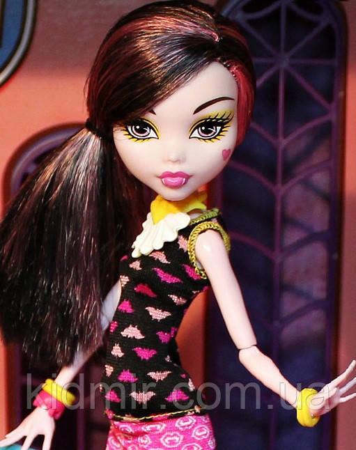 Кукла Monster High Дракулаура (Draculaura)  Крипатерия Монстер Хай Школа монстров
