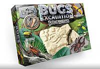 Набор для проведения раскопок Danko Toys насекомые 6 видов Часть 2