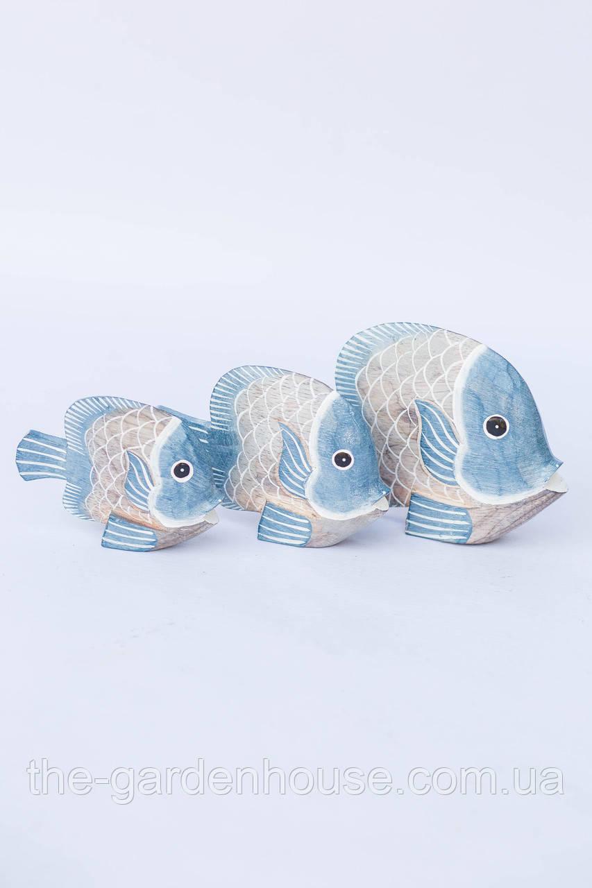 """Статуэтка """"Рыба волна голубая"""", 16 см"""