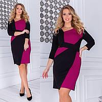 Платье большого размера 35-301, фото 1