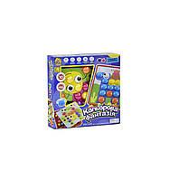 Fun Game Цветная фантазия (7033) Мозаика FUN GAME (10 платформ с рисунками, 46 элементов)