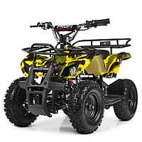 Электрический квадроцикл Profi HB-EATV800N-13(MP3) V3 желтый камуфлляж
