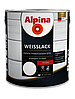 Эмаль алкидная Alpina Universallack (глянцевая тёмно-коричневая) 2,5 л