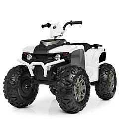 Детский электрический квадроцикл BAMBI M 4246 EL-1 белый