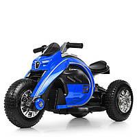 Детский мотоцикл Bамві на надувных колесах M 4134A-4 синий