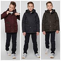 Супер куртка парка весна-осень на мальчика 8298 тм X-Woyz Размеры 122- 164