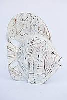 Резная белая рыба, 32*25 см