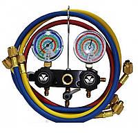 Манометрический коллектор  MC-93661-EB Mastercool R-22,407,410+шл 3*150 см (USA)