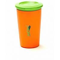 Детский стакан-непроливайка Wow Cup WO015 Оранжевый