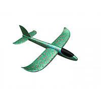 Ручной метательный планер Faynaplan 49 см Green V-210