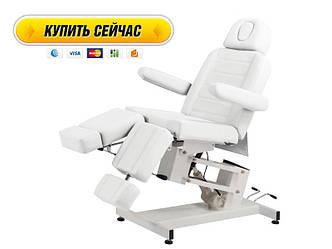 Педикюрное кресло кушетка для педикюра на электроуправлении 3706 (1 мотор)