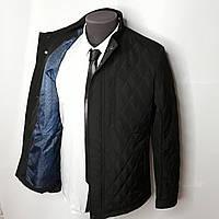 Куртка классическая черная на весну