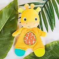 М'яка іграшка з гризунцем Жирафик Bright Stars