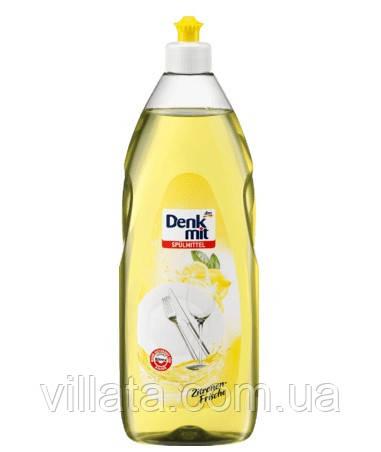 """Миючий засіб для посуду """"Лимон"""" Denkmit 1L"""