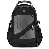 Рюкзак Wenger SwissGear 8810 с USB и AUX Серый