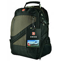 Рюкзак Wenger SwissGear 8810 с USB и AUX Коричневый