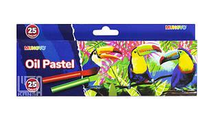 Пастель олійна Mini 25 кольорів дитяча,MOPS-25 Mungyo
