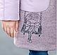 Парка для девочки кашемир + плащевка «Лиди», размеры на рост 128 - 146, фото 4